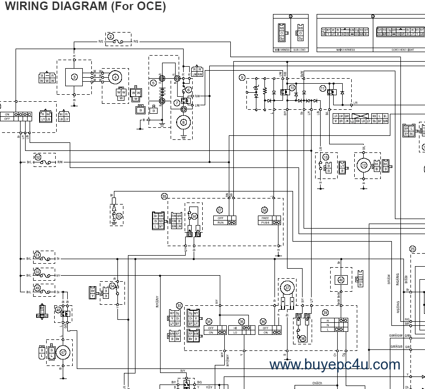yamaha fz6 ss fz6 ssc 2004 2003 yamaha r6 wiring diagram 05 yz250f engine diagram \u2022 wiring yamaha sz r wiring diagram at soozxer.org