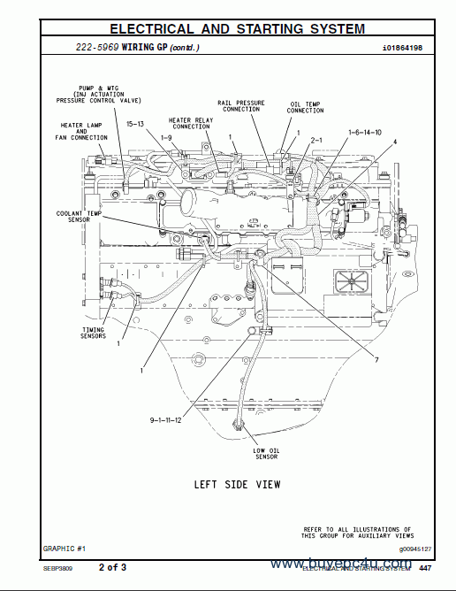 Cat C7 Engine Parts Diagram