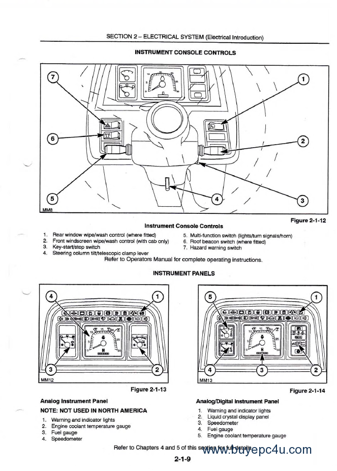 f59 wiring schematic new holland ford 8160 8260 8360 8560 repair manual pdf  new holland ford 8160 8260 8360 8560 repair manual pdf