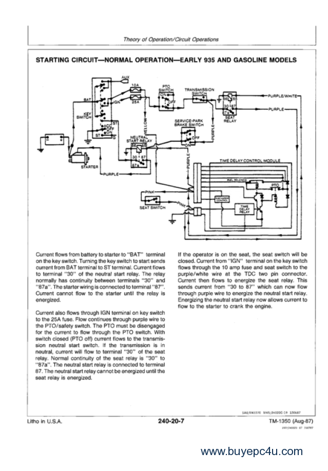 deere f935 operator manual pdf has easy to text sections top quality diagrams instructions cce is a new version of a program for repairing andtroubleshooting commercial and