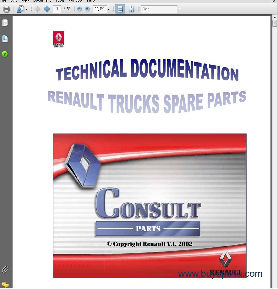 Renault Trucks Rvi Consult Parts Catalog 2018 Download Truck Wiring Diagram The Screenshot Of Spare Catalogue 5