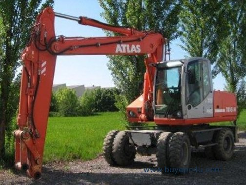 Terex Atlas 1805 2005 Wheeled Excavator Service Manual