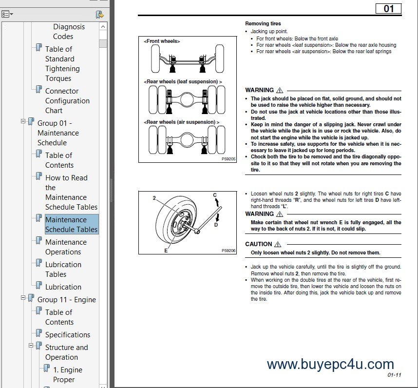 mitsubishi fuso 2005 service manual rh buyepc4u com Mitsubishi Fuso Engine Manual Mitsubishi Fuso Owner's Manual